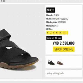 Giày sandal 9h33 thái lan giá sỉ