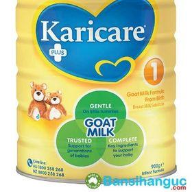 Bán sỉ karicare goat milk formula step 1 0-6 mths 900g - sữa dinh dưỡng dành cho trẻ sơ sinh giá sỉ