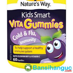 """Bán sỉ nature""""s way kids smart vita-gummies multi-vita 60 viên - cung cấp vita gummies cho bé biếng ăn giá sỉ"""