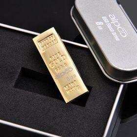 Usb 8gb aipoo gold 1002 mạ vàng giá rẻ nhất hcm - giá sỉ giá tốt giá sỉ