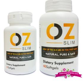 Viên uống Ozslim hỗ trợ gảm cân an toàn cho sức khỏe 40 viên - mỹ giá sỉ