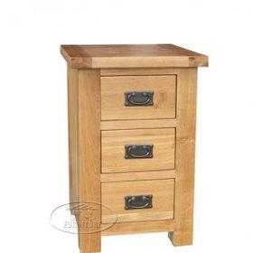 Tủ đầu giường gỗ sồi 3 ngăn kéo kt 50x40x70 giá sỉ