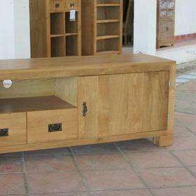 Kệ tivi gỗ sồi 1 cánh 2 hộc kt 160x45x65 giá sỉ