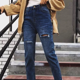 Jean baggy và jean lửng