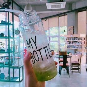 Bình nước my bottle và brown