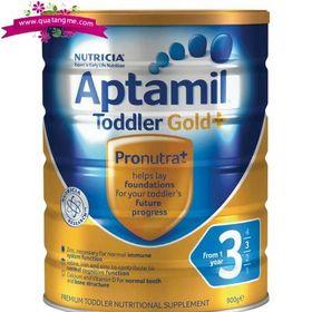 Aptamil gold 3 toddler nutritional supplement from 1 year 900g - sữa dinh dưỡng tăng cường miễn dịch cho trẻ trên 1 tuổi giá sỉ