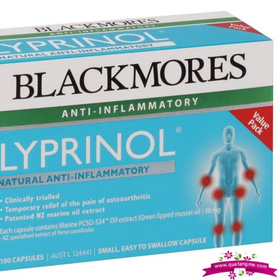 Blackmores lyprinol marine value pack 100 capsules - viên uống giảm đau xương khớp giá sỉ