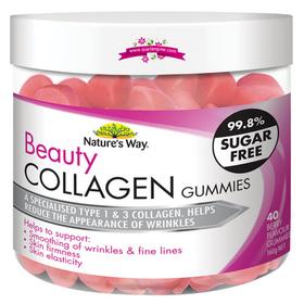 """Nature""""s way beauty collagen 40 gummies - viên uống collagen ngăn ngừa lão hóa giá sỉ"""