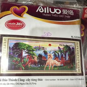 Tranh thêu Ailuo 53388 giá sỉ
