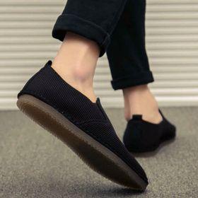 giày lười vải nỉ