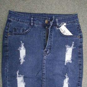 váy jeans co giãn