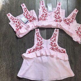 áo hoa thêu Quảng Châu