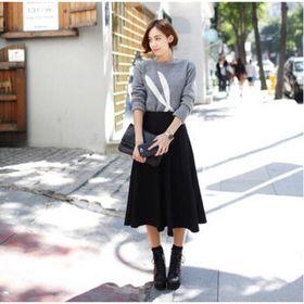 Chân váy dài vintage