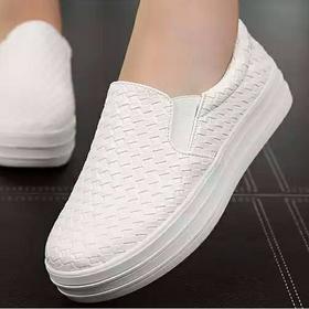 Giày lười nữ độn đế có thể tháo độn