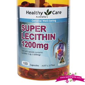 Healthy Care Lecithin 1200mg 100 - Tinh chất mầm đậu nành khôi phục chức năng sinh lý nữ giá sỉ
