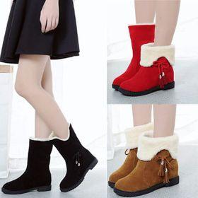 Giày Boots - Ấm Áp - Trẻ Trung - Đa Phong Cách