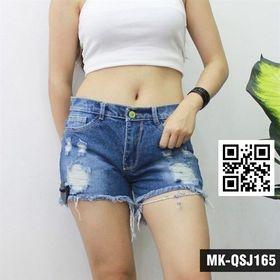 Quần Short Jean Nữ 165