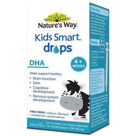 DHA DẠNG NHỎ GIỌT - NATURES WAY KIDS SMART DROPS DHA 20M giá sỉ