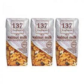 Lốc 3 hộp sữa hạt óc chó nguyên chất 137 Degrees 18ml