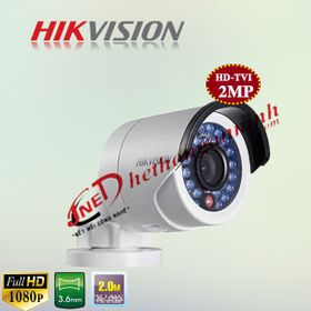 Camera HD- TVI thân Hikvision DS-2CE16D0T-IR 20MP