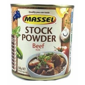 Massel Stock Powder Beef 168g - Hạt nêm KHÔNG MÌ CHÍNH hương vị bò giá sỉ