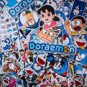 Set 100 Sticker - Doreamon