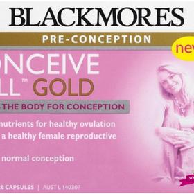 Blackmores Conceive Well Gold 56 Tablets 28 Tablets 28 Capsules - Viên uống tăng khả năng thụ thai giá sỉ