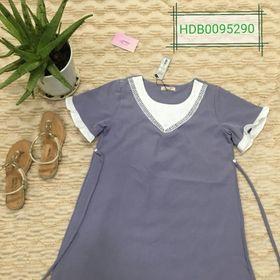 Đầm bầu công sở HDB0290 giá sỉ