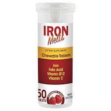 Iron melts Bổ sung sắt acid folic vitamin B12 và vitamin C giá sỉ