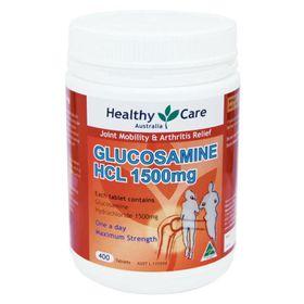 Glucosamine HCL 1500mg Healthy Care Hộp 400 Viên Của Úc giá sỉ