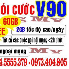Sim Viettel V90 10 số