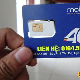 Sim Mobifone 4G 62GB/tháng
