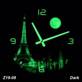 Đồng hồ treo tường Tranh dạ quang