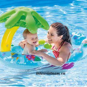 Phao bơi đôi mẹ con Intex