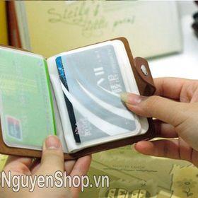 Ví Bóp Cầm Tay Chứa 26 Thẻ Atm Visa Card giá sỉ