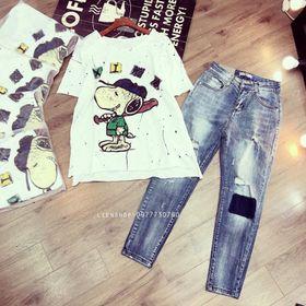 quần jeans rách