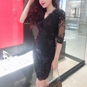 Đầm Body Ren Hoa giá sỉ