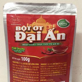 Bột ớt Ấn Độ giá sỉ