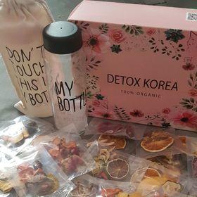 Detox trái cây sấy Hàn Quốc