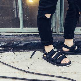 sandal 6212 trắng nam nữ