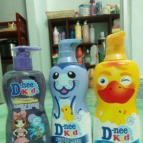 Tắm gội tạo bọt Dnee Kids bubble bath 400ml