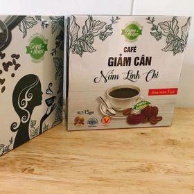 cafe giảm cân nấm linh chi Trang House giá sỉ