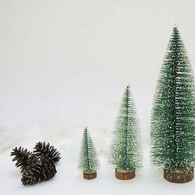 Cây thông noel handmade mini để bàn sợi cước số 27 3 size giá sỉ