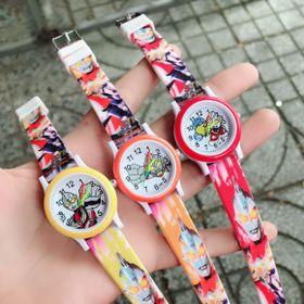Đồng hồ dây cao su trẻ em giá sỉ