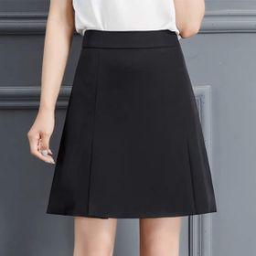 Chân váy công sở chữ A xếp 2 li thời trang