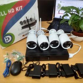 bộ camera ip wifi 4 mắt 8 mắt full HD giá rẻ giá sỉ