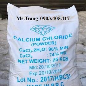 Canxi clorua bổ sung khoáng chất cần thiết cho tôm cá giá sỉ