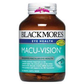 Blackmores Macu-Vision 125 Tablets - Thuốc bổ và hỗ điều trị các bệnh về mắt giá sỉ