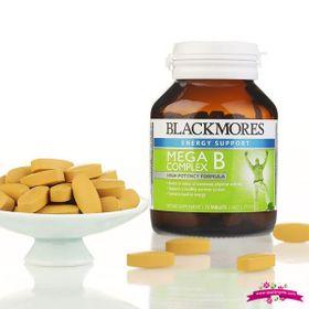 Blackmores Mega B Complex 31 Tablets - Viên uống bổ sung vitamin nhóm B ngừa tê phù chân tay giá sỉ