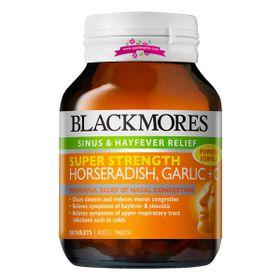 Blackmores Super Strength Horseradish Garlic C 50 Tablets - Viên uống điều trị cảm lạnh giá sỉ